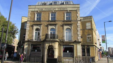 The Pembury Tavern on Pembury Circus has been bought by Five Points Brewing Company. Picture: David