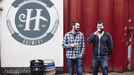 Pete and Jon who founded Hackney Brewery in 2011