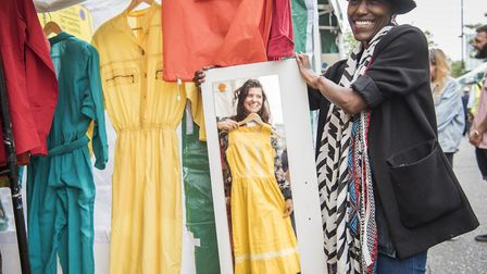 All of the traders at Well Street Market on Saturday will be women. Pictured, Yeukia Makoni. Picture