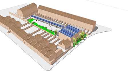 Campaigners' alternative plans for the site in Mandeville Street, Lower Clapton.