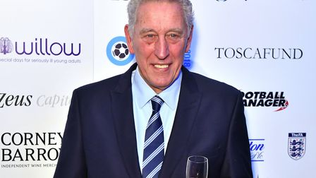 Martin Chivers arriving at the London Football Awards 2018 on March 1, in aid of national charity, W