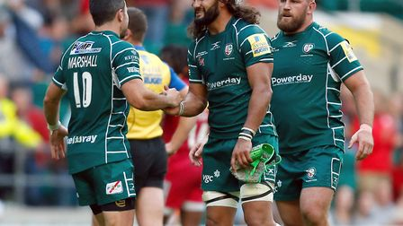 London Irish's Blair Cowan (centre) has joined Saracens on loan until the end of the season (pic: Pa