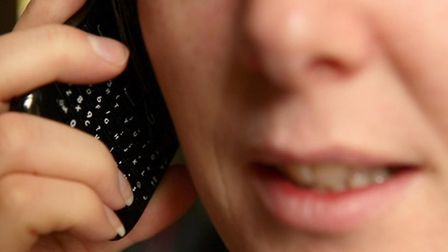 Suffolk police are warning the public to be wary of telephone scams. Picture: Dave Thompson/PA Wire.