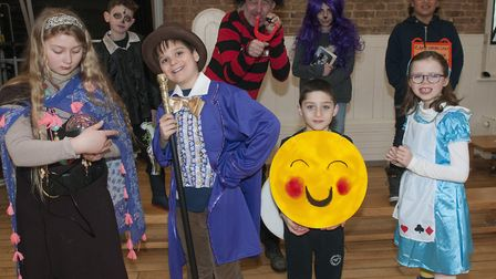 World Book day at Fitzjohn's Primary school