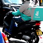 A file image of a Deliveroo driver. Picture: Kevin Jones (CC BY 2.0)