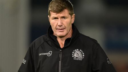 Exeter Chiefs director of rugby Rob Baxter (pic Simon Galloway/PA)