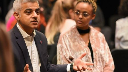 Mayor of London Sadiq Khan visited The Royal Central School of Speech and Drama to launch his strate