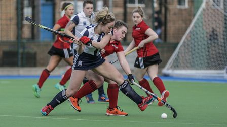 Amy Askew in action for Hampstead & Westminster (pic Mark Clews)
