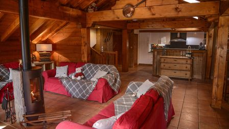 Powder N Shine's Chalet Neve in Reberty. Picture Cecile Bouchayer