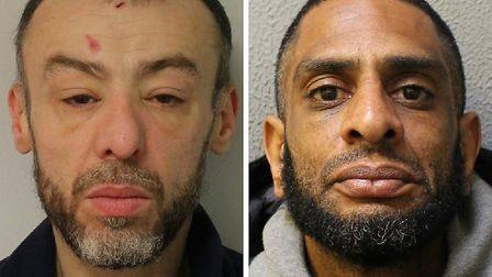 L-R: Atiq Maclaian and Fabian Simpson were jailed for a combined 73 months following separate burgla