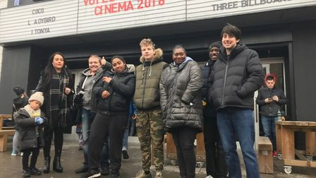 Hundeds of teenagers have now seen Hollywood blockbuster Black Panther thanks to a crowdfunding camp