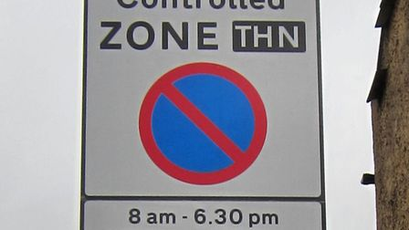 A file image of a CPZ sign. Picture: Alan Stanton/Flickr/Creative Commons (CC BY-SA 2.0)