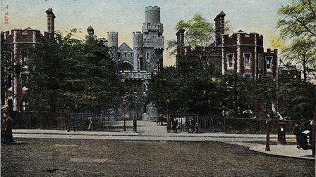 Holloway Castle, in a postcard from the 1900s. Picture: Islington Local History Centre
