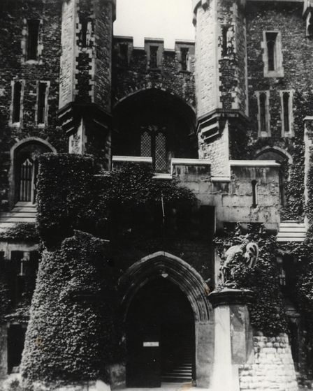 The entrance of Holloway Prison in 1947. Picture: Islington Local History Centre
