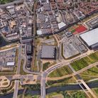 The site on the Olympic Park being developed by East Wick and Sweetwater. Picture: Google Earth