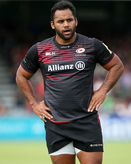 Saracens' Billy Vunipola (pic: Mark Kerton/PA)