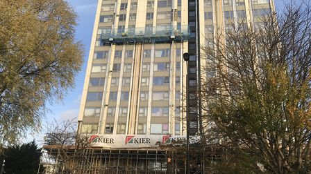 Residents from Chalcots tower blocks now need windows replacing.
