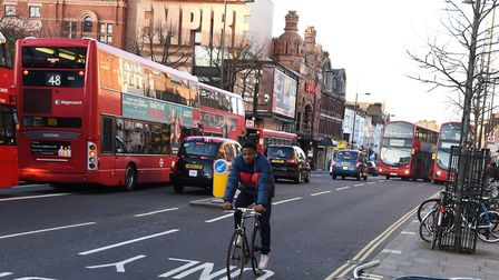 26% of people in Hackney use the bus as their main transport, the council says. Picture: Ken Mears