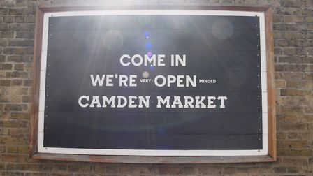 Camden Market. Photos by Kardeeja Warsame