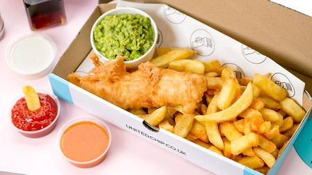 Fish and chips at United Chip. Picture Justin De Souza