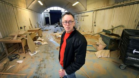 One of Hackney's last furniture makers, Charlie Fox, has been forced to relocate his business from o