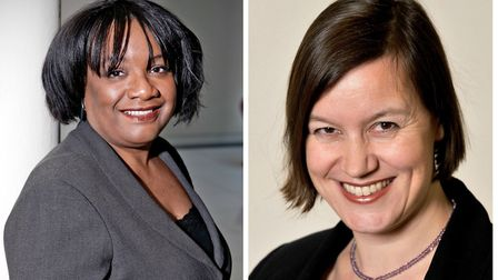 Hackney MPs Diane Abbott (left) and Meg Hillier (right)