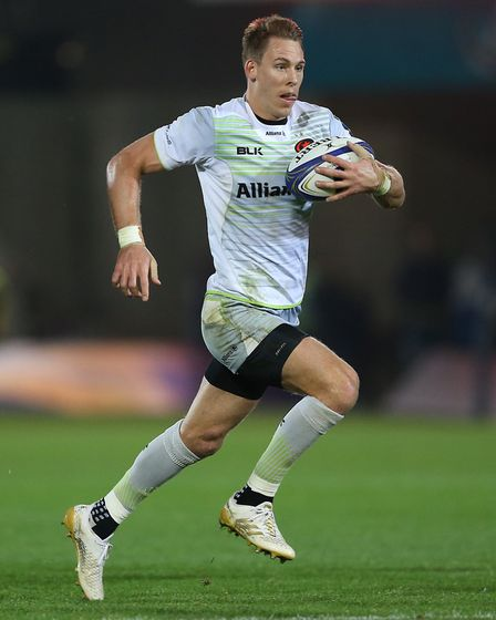 Saracens Liam Williams was among the scorers at Northampton (pic Nigel French/PA)