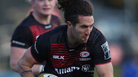 Mike Ellery in action for Saracens earlier in the season (pic: David Davies/PA)