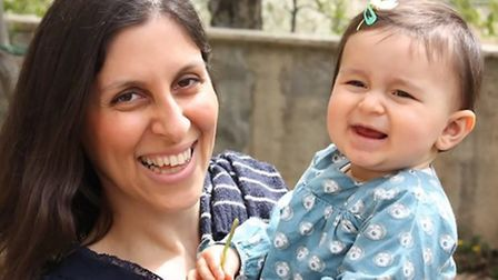 Nazanin and Gabriella Ratcliffe before they were detained in Iran. Picture: Ratcliffe Family