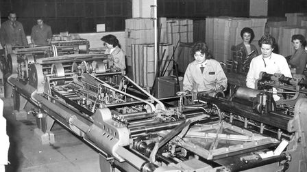 D Smith and Sons printers in Lea Bridge Road in 1959. Picture: Rendezvous CIC