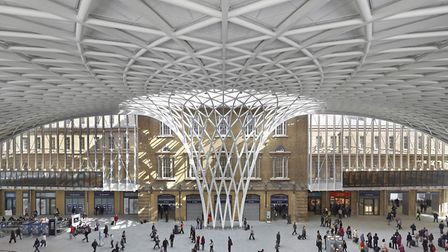 Kings' Cross station which was redeveloped by John McAslan and partners picked up a gong at the RIBA
