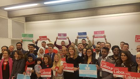 Camden Labour Party launch their local elections campaign at the JW3 Centre, on Finchley Road. Pictu