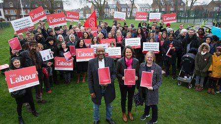 Haringey Labour Party launch their local elections manifesto on April 7