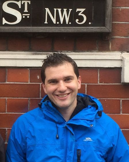 Councillor for Hampstead Town, Oliver Cooper
