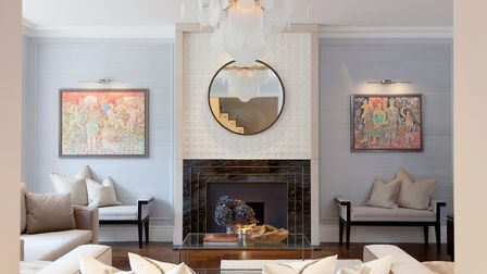The London interior design firm studied lots of Indian design with the project in mind. Photo credit