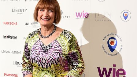 Tessa Jowell at the LDNY fashion show and WIE Award Gala at Goldsmiths Hall, London, in April 2015