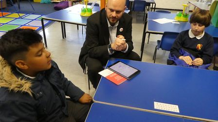 Children at De Beauvoir Primary School have been working with the Mayor of Hackney on making the bor