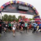 Runners setting off at last year's Hackney Half. Picture: Virgin Sport