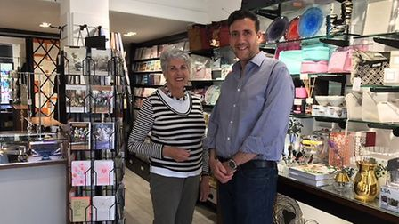 Caxton gift shop in Temple Fortune Parade, which has been nominated for the award