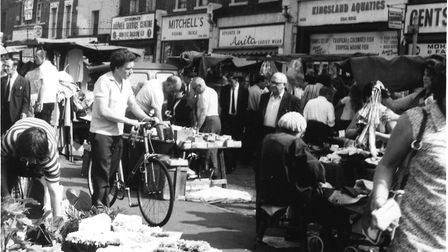 The Kingsland Waste Market in the 60s. Picture: Hackney Archives