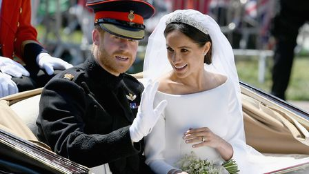 The Duke and Duchess of Sussex got married on Saturday. Pic: PA