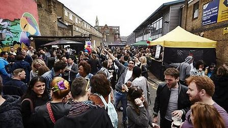 The road will be shut off for the annual Star at Bethnal Green street party
