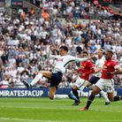 Tottenham Hotspur's Dele Alli scores his side's first goal of the game during the Emirates FA Cup se