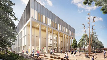 A digital impression of the proposed council-run leisure centre. Picture: HACKNEY COUNCIL