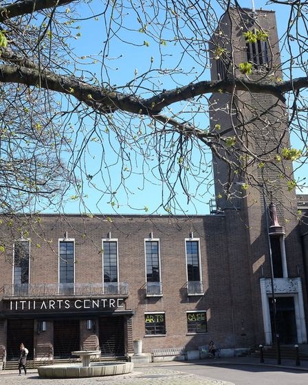 Hornsey Town Hall. Picture: Dave Winskill