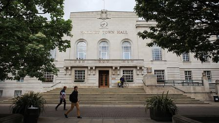 Hackney Town Hall. Follow our blog for live election results coverage. Picture: Isabel Infantes