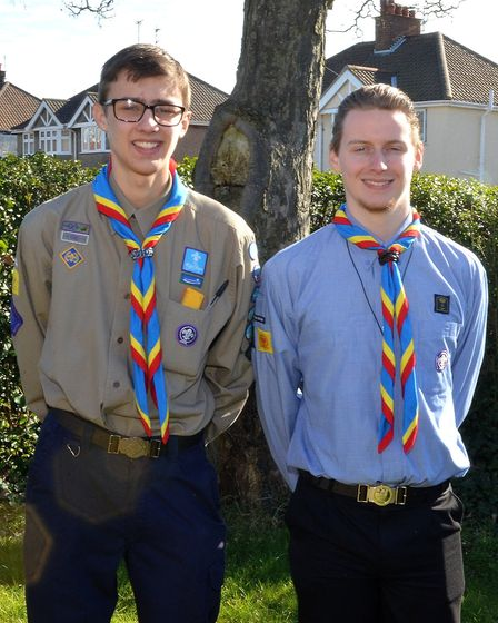 Callum Howard and Jake Dixon have been officially introduced as Youth Commissioners for the Lowestof