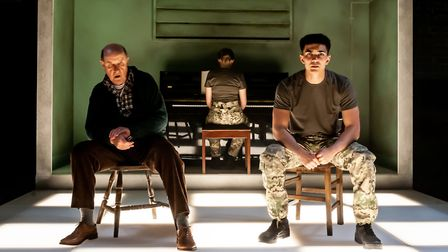 Not Talking at the Arcola Theatre