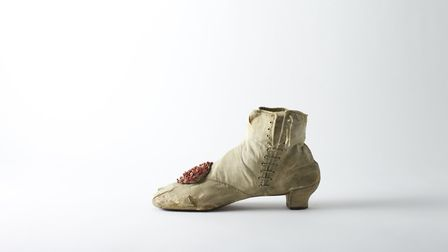 silk side lace ankle boot 1860