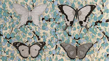 butterflies by Anne Gournay